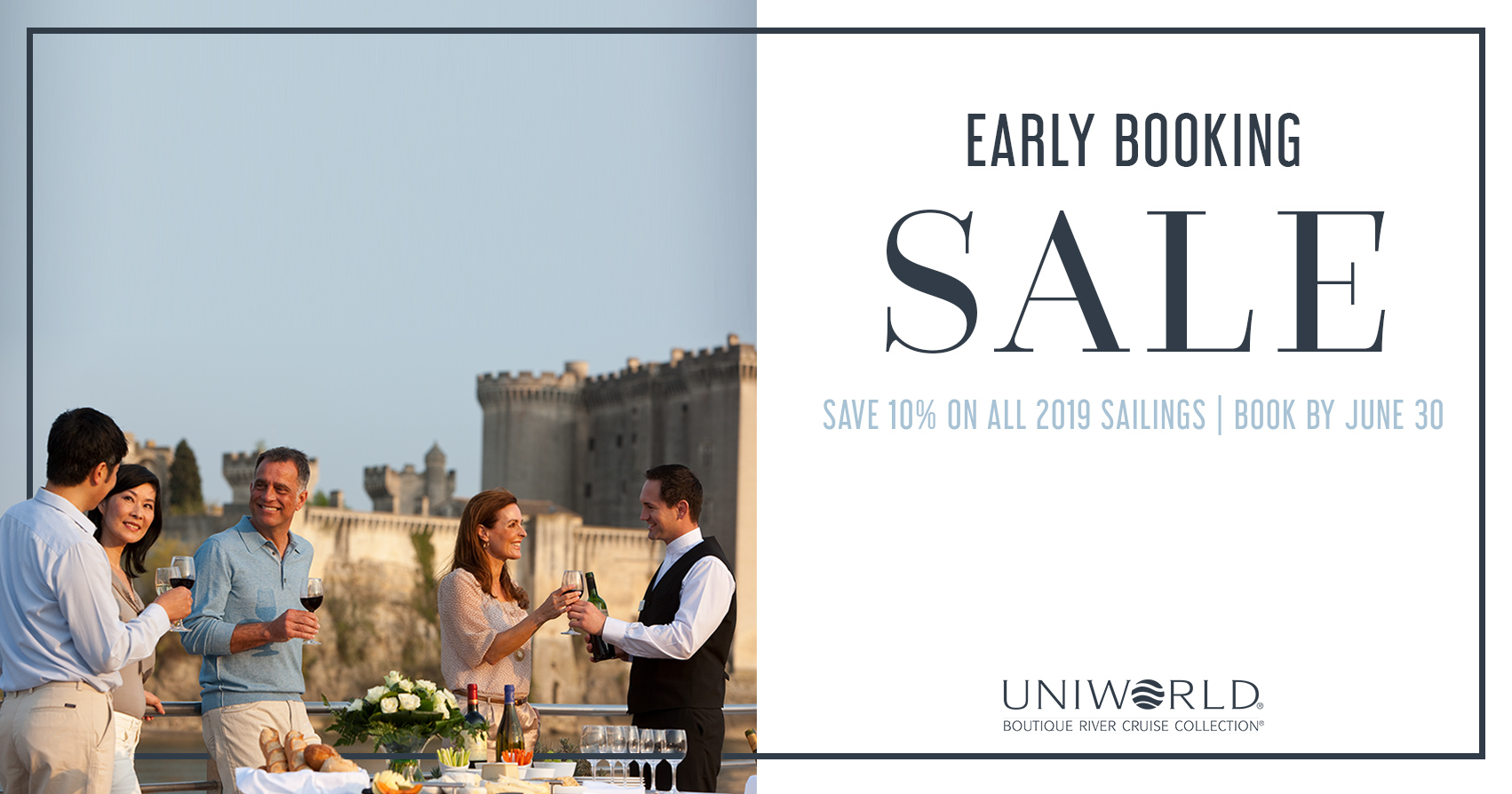 Uniworld – Up to 10% Savings